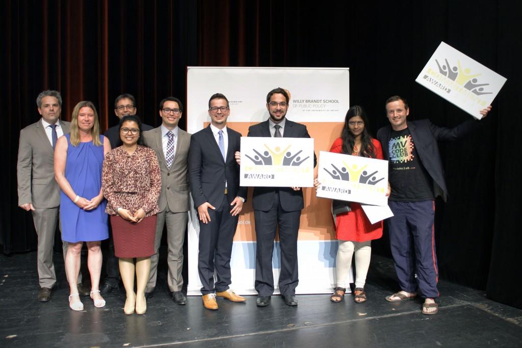 The 2016 Commitment Award winners